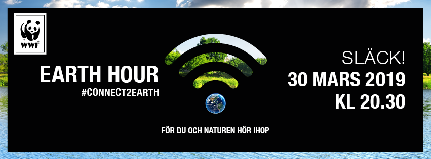 Earth Hour 30 mars 2019